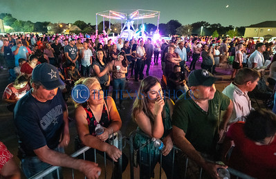 Thousands of people gathered on the grounds of San Juan Diego Catholic Church in Dallas doing a concert on Sept. 1 for the parish's annual festival. (David Woo Photo)
