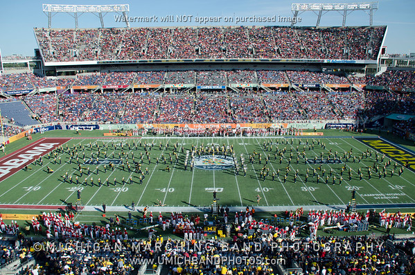 Formation Photos - Citrus Bowl 2020