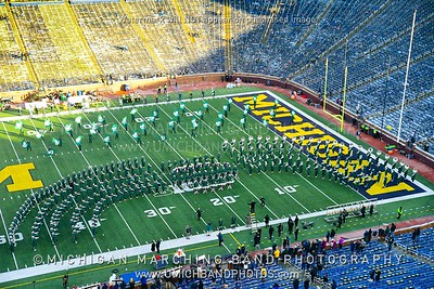 Michigan State Band Photos - MSU 2019