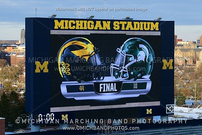Video Board Photos - MSU 2019