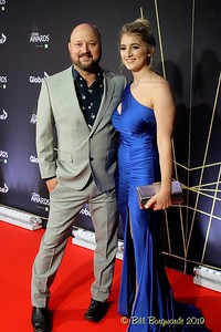Aaron & Victoria Goodvin - Red Carpet - CCMA 9-19 5167