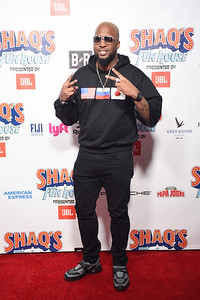 ATLANTA, GA - FEBRUARY 1 : Shaq's Funhouse Super Bowl Party on Friday, February 1, 2019 in Atlanta, GA. (Photo by Tim Rogers / RedCarpetImages.net)