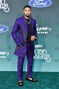 LAS VEGAS, NV - November 17:  Soul Train Music Awards at Orleans Arena on Sunday, November 17, 2019, in Las Vegas, NV, USA. (Photo by: Aaron J. / RedCarpetImages.net)