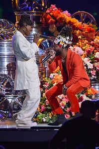 LAS VEGAS, NV - November 17:  Soul Train Music Awards at Orleans Arena on Sunday, November 17, 2019, in Las Vegas, NV, USA. (Photo by: Aaron J. / RedCarpetImages.net)