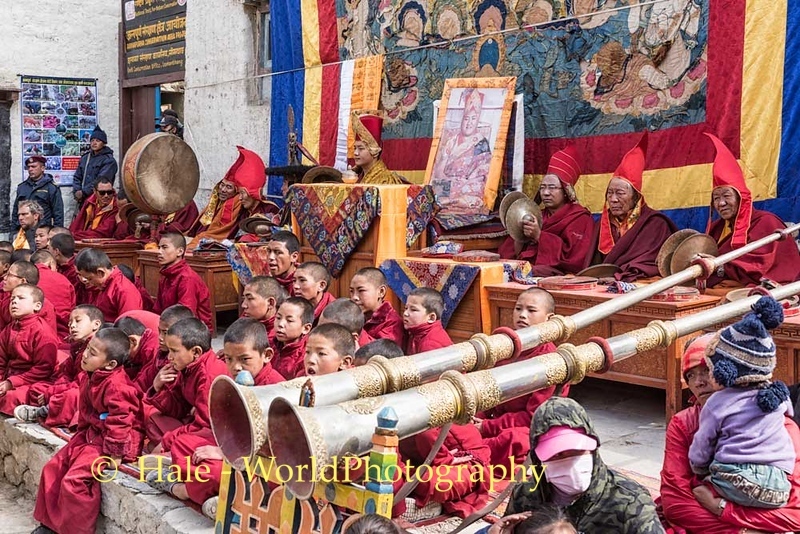 Tiji Festival Gallery of Monks