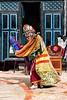 A Tiji Festival Dancer