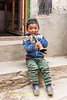 Young Boy and Horn