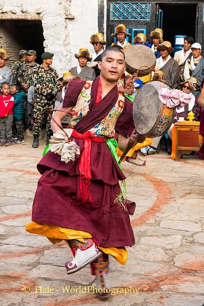 Dancing Monk - 1