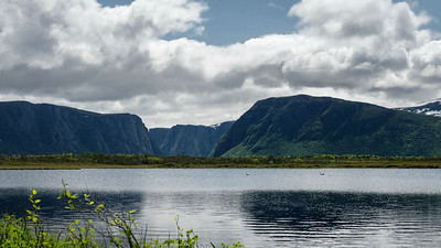 Western Brook Fjord. Gros Morne, NL