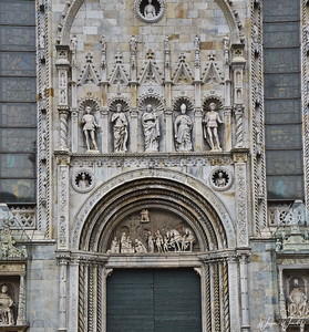 Entrance Door to Cathedral
