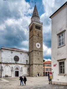 Koper, Slovenia:  Zvonik Campanile