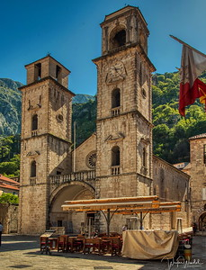 Saint Tryphon Cathedral in Kotor, Montenegro