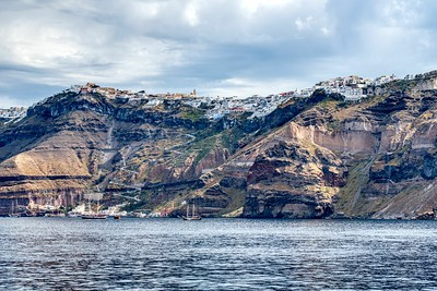 Santorini, Greece:  Three Ways Up