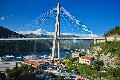 Franjo Tudman Bridge:  Dubrovnik, Croatia