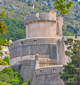 Strategic Corner:  Minceta Tower - Dubrovnik City Wall Fortress