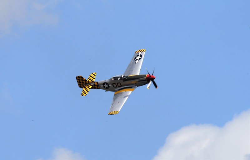 And the Mighty P-51 Mustang! My favorite fighter plane in all of WWII!