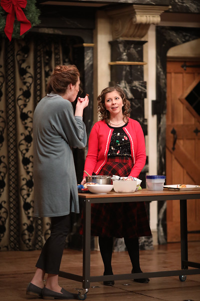 Meg Rodgers and Karen Kopryanski in Anne Page Hates Fun by Amy E. Witting. SNC winner. Winter Season 2019. Photo by Lindsey Walters.
