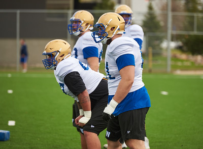 #67 Asotui Eli during Winnipeg Blue Bombers rookie camp Wednesday May 15, 2019.