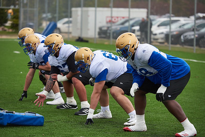 #61 Drew Desjarlais during Winnipeg Blue Bombers rookie camp Wednesday May 15, 2019.