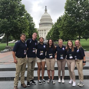 Students are visiting with their elected representatives today. #elevateytdc #ytdc2019