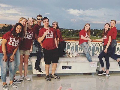 Lots of fun on our Potomac riverboat cruise with Georgia, Montana, Wyoming, Idaho, and Northwestern States! #elevateytdc #ytdc2019