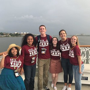 Taking a cruise on the Potomac. #elevateytdc #ytdc2019