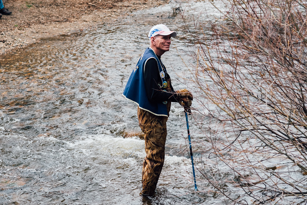 . Looking out for the ducks. (Trail-Gazette)
