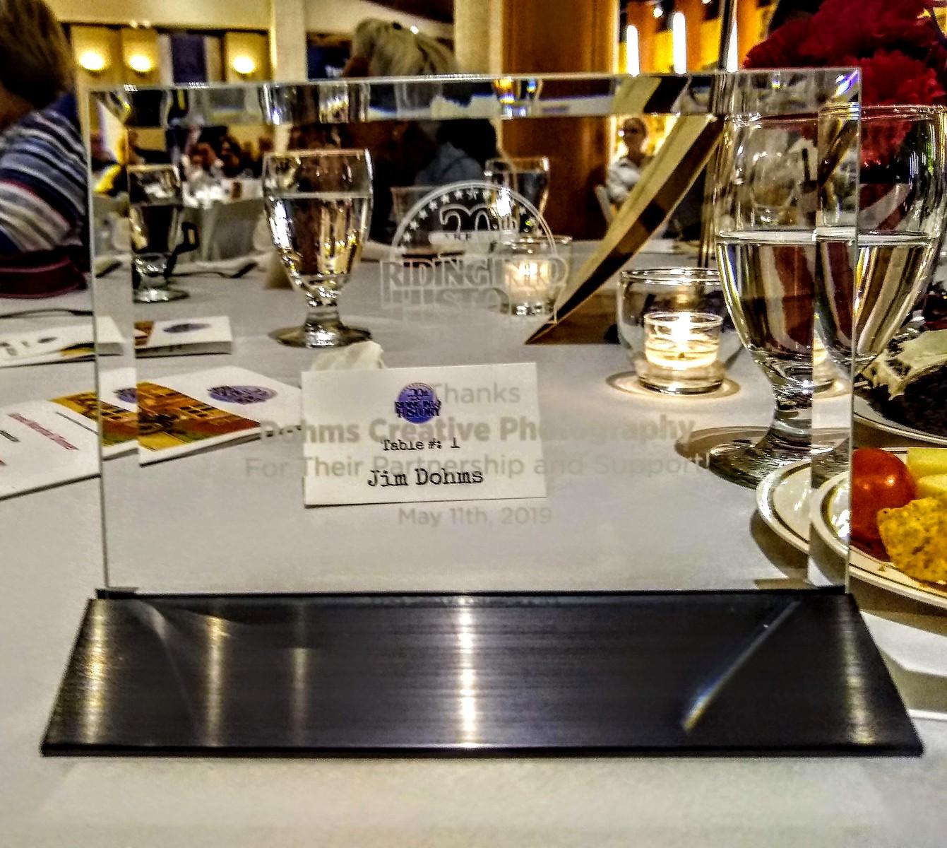 Sponsor Appreciation Awards