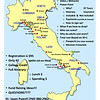 Italy Tour Meeting Map
