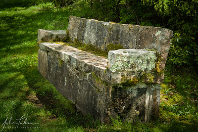 Bench at Mountain Lake