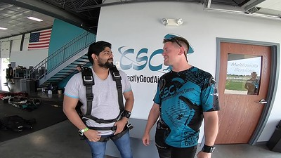 1531 Ankit Antony Skydive at Chicagoland Skydiving Center 20190629 Eric Steve