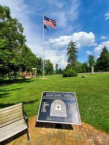 Flagpole at Antietam National Cemetery