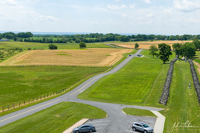 View from the Observation Tower at Antietam National Battlefield