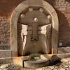 Fountain in Palazzo della Sapienza
