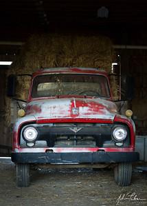 Farm truck at Frying Pan Farm Park, Herndon, Virginia