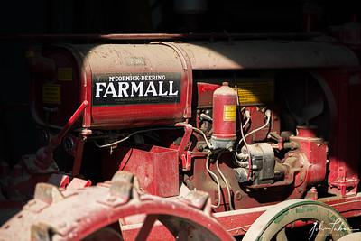 Old Farmall at Frying Pan Farm Park, Herndon, Virginia