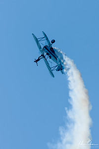 The Flying Circus performing at the 2019 Leesburg Airshow