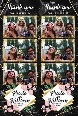 10-13-2019 Nicole & William