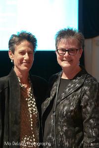 Cheryl Gould and Terri Tachovsky