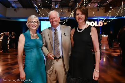 Micki Callahan, Chip Aubry and Vanessa Holton