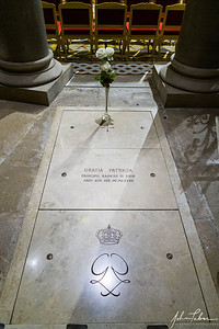 Grave of Princess Grace in the Monaco Cathedral