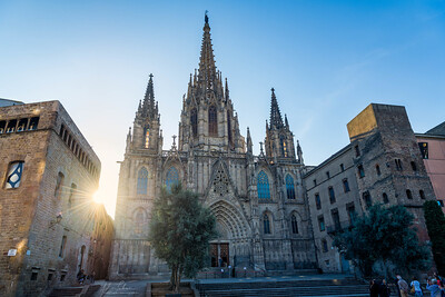 Barcelona Cathedral - morning light