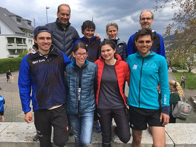 Sprint-Staffel in Richterswil, 12.Mai 2019