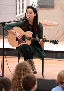 Two Rivers Gallery hosted Juno-nominated, three time Parents Choice Award recipient Ginalina. This was part of the Come In from The Cold community outreach event series to be held at various times and venues around town during the Coldsnap Festival. Citizen photo by Brent Braaten