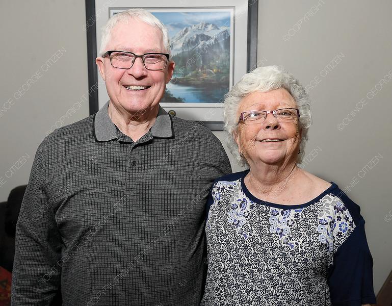 John and Wilma Scott for the Seniors' Scene column on April 4th.