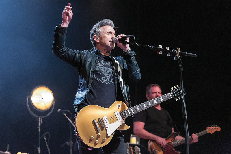 Colin James performs on Saturday night at CN Centre as the Canadian blues rocker brought his Miles To Go tour to Prince George with opening act Marty O'Reilly and the Old Soul Orchestra, and special guest, Barney Bentall & Band. Citizen Photo by James Doyle      March 23, 2019