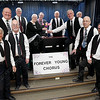 The men of the Forever Young Choir. For Senior's Scene column celebrating the choir and their concert on April 12, 13 and 14. Citizen photo by Brent Braaten