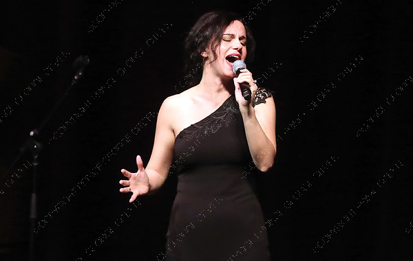Erin Shields sings on Sunday night at Prince George Playhouse during O Sole Trio's Bravissimo Broadway performance. The trio performed a number of classic Broadway hits from such musicals as Cats, and Phantom of the Opera. Citizen Photo by James Doyle       May 26, 2019