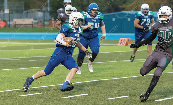 Kelly Road Roadrunners took on the PGSS Polars on Thursday evening at Masich Place Stadium. Citizen Photo by James Doyle