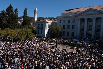 Global Climate Strike, Univ. of California Sproul Plaza, Berkeley, CA
